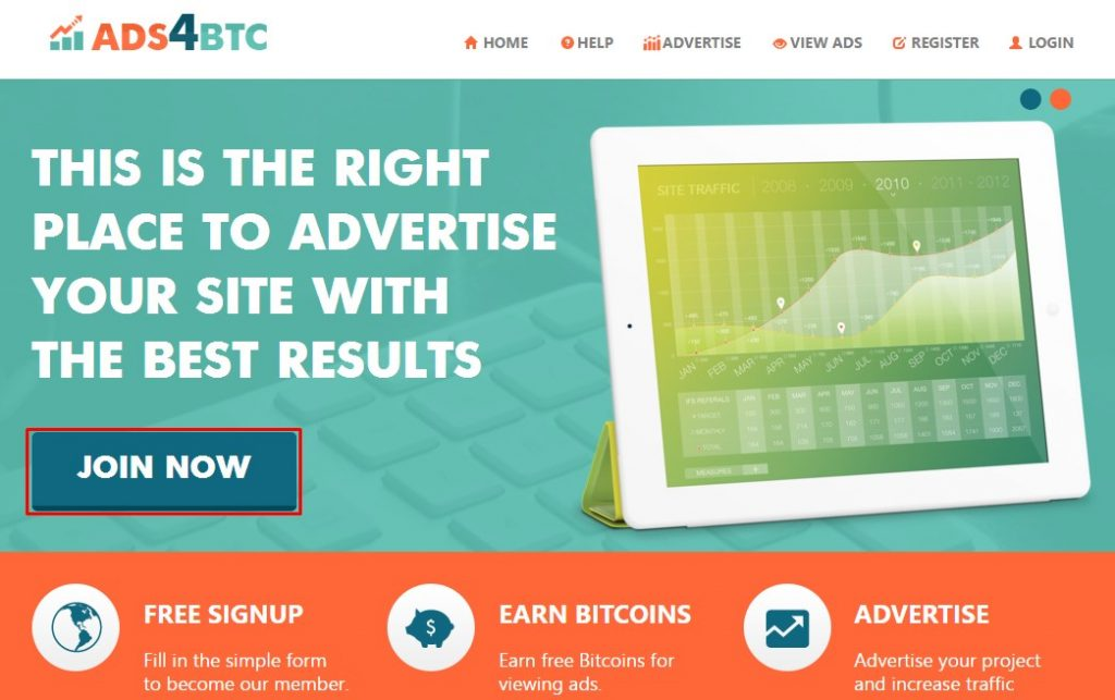 ads4btc registrarse