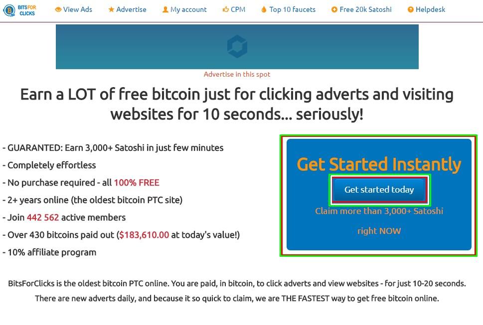 bitsforclicks registrarse