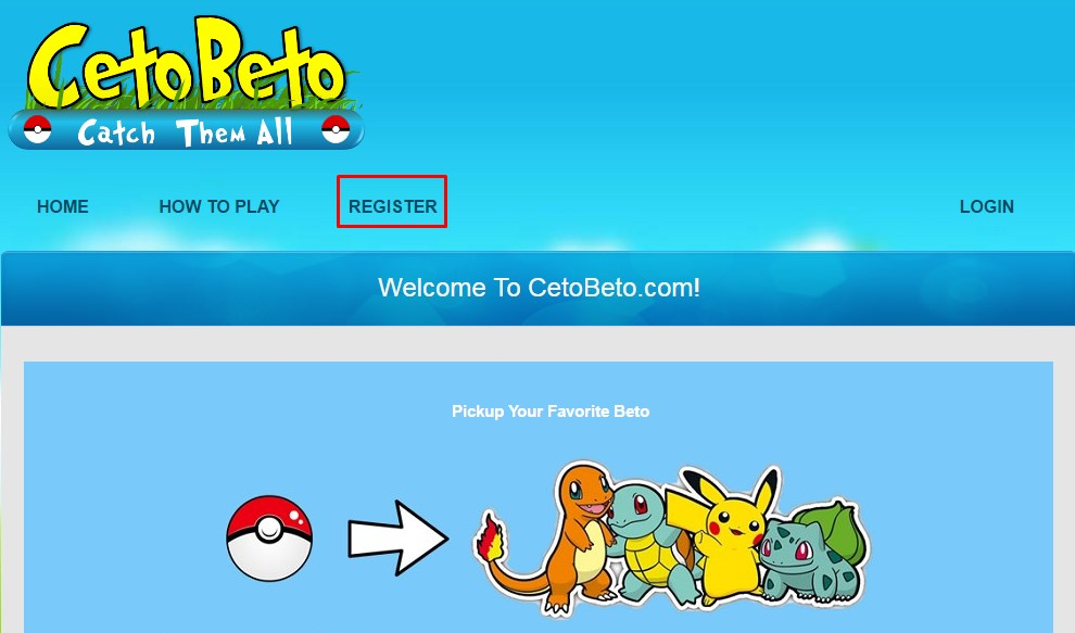 cetobeto register