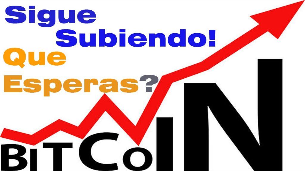 que hacer si el bitcoin sube de precio