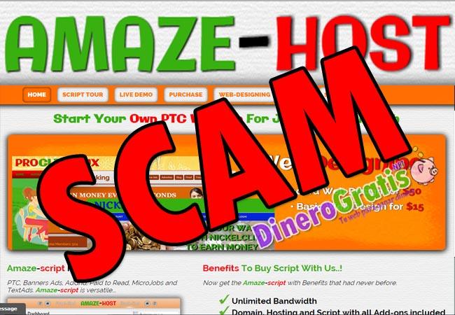 Amaze host scam