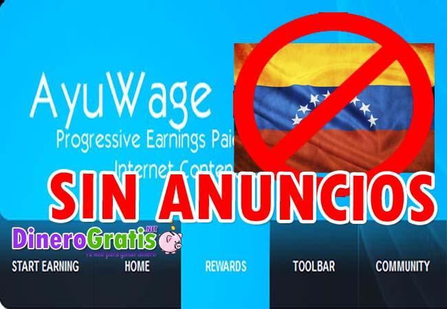 Ayuwage sin anuncios venezuela