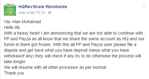 hqrevshare facebook scam