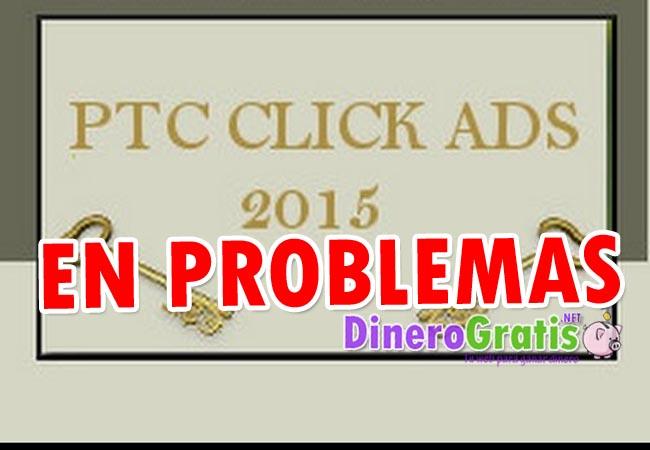 ptc click ads en problemas logo