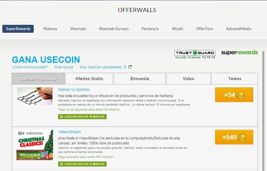 useclix offerwalls