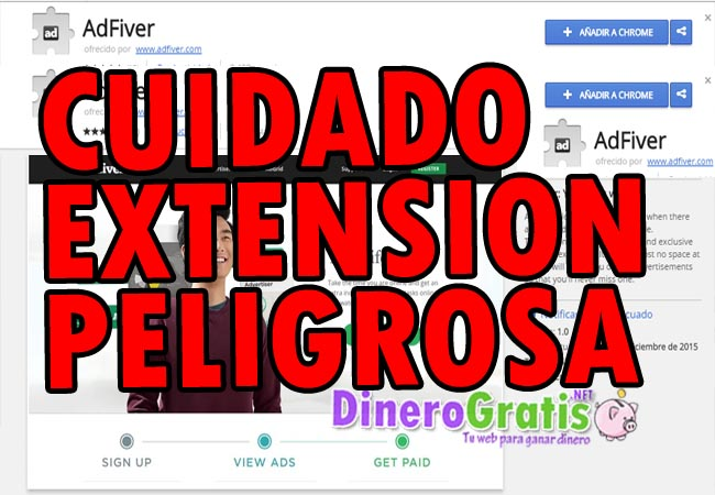 extension adfiver peligrosa