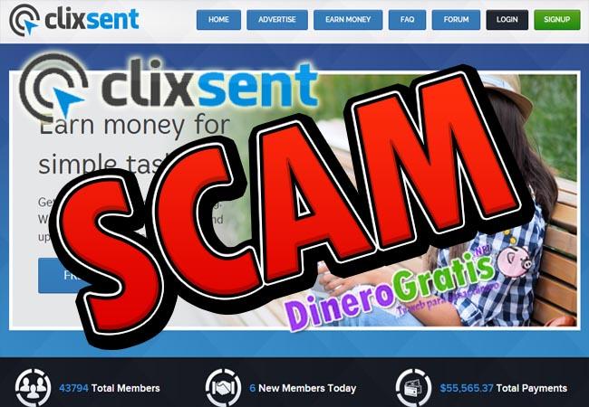 clixsent scam