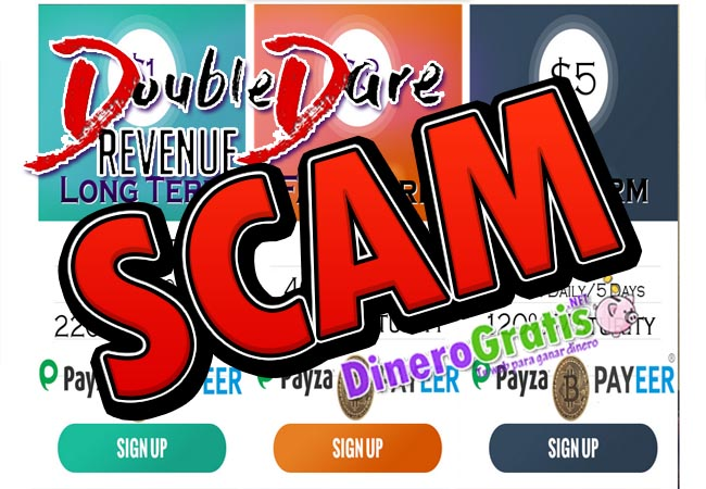 Double Dare Revenue scam