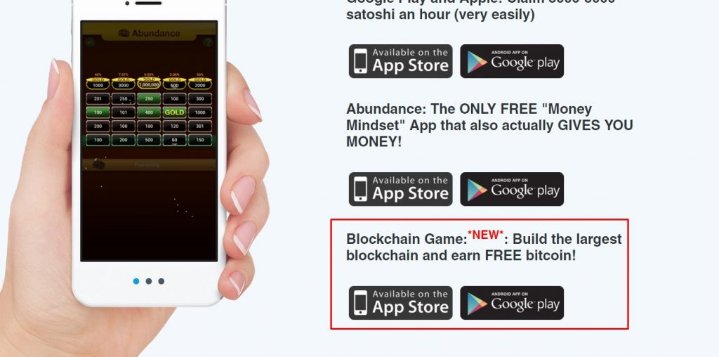 blockchain game descargar