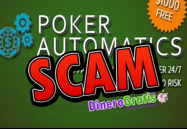 pokerautomatics scam