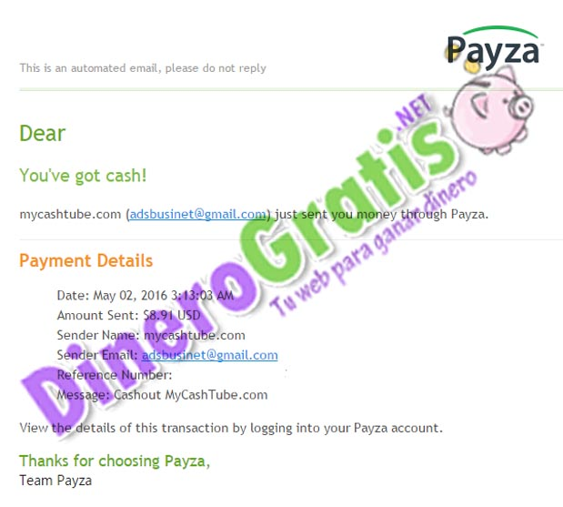 pago mycashtube