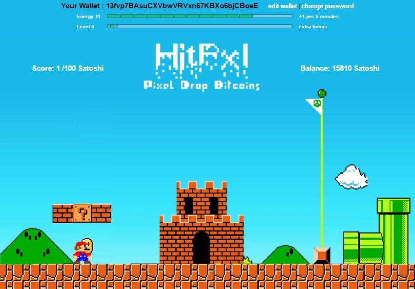 Hitpxl juego