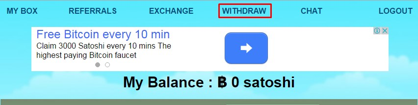 beanbtc withdraw