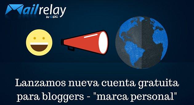 mailrelay cuentas para bloggers