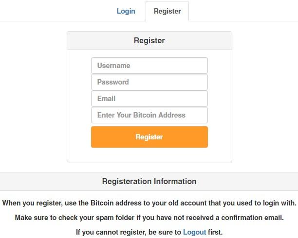 pokebits register