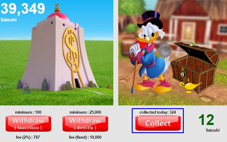 donaldcoin collect