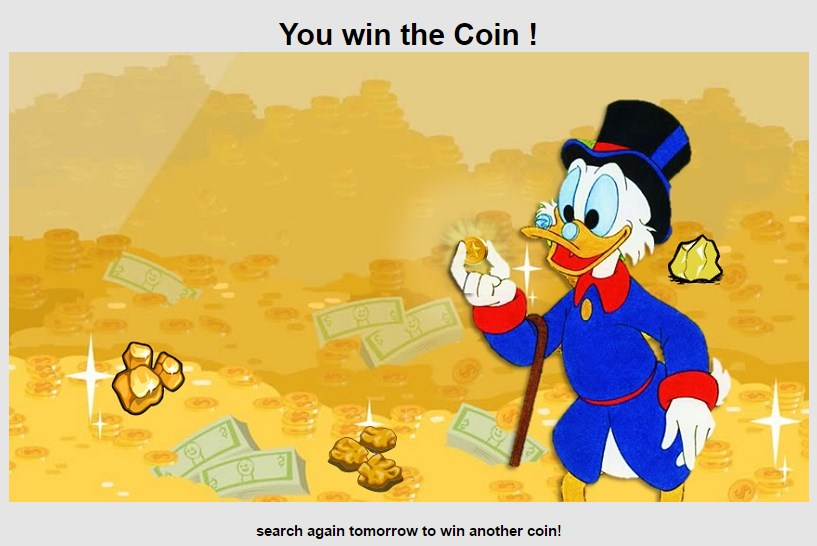 donaldcoin win the coin