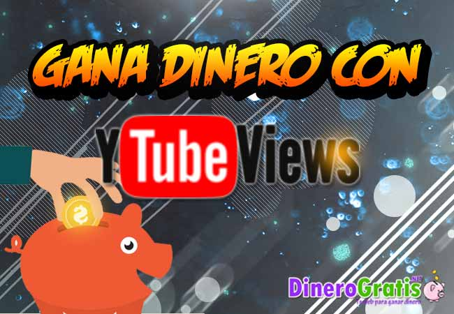 ytubeviews como cobrar