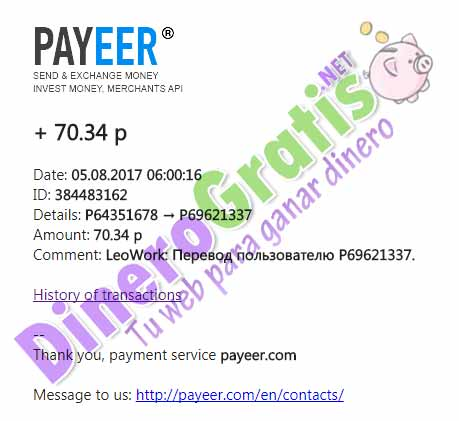 Payeer to PayPal