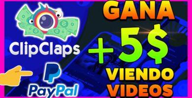 clipclaps como ganar dinero