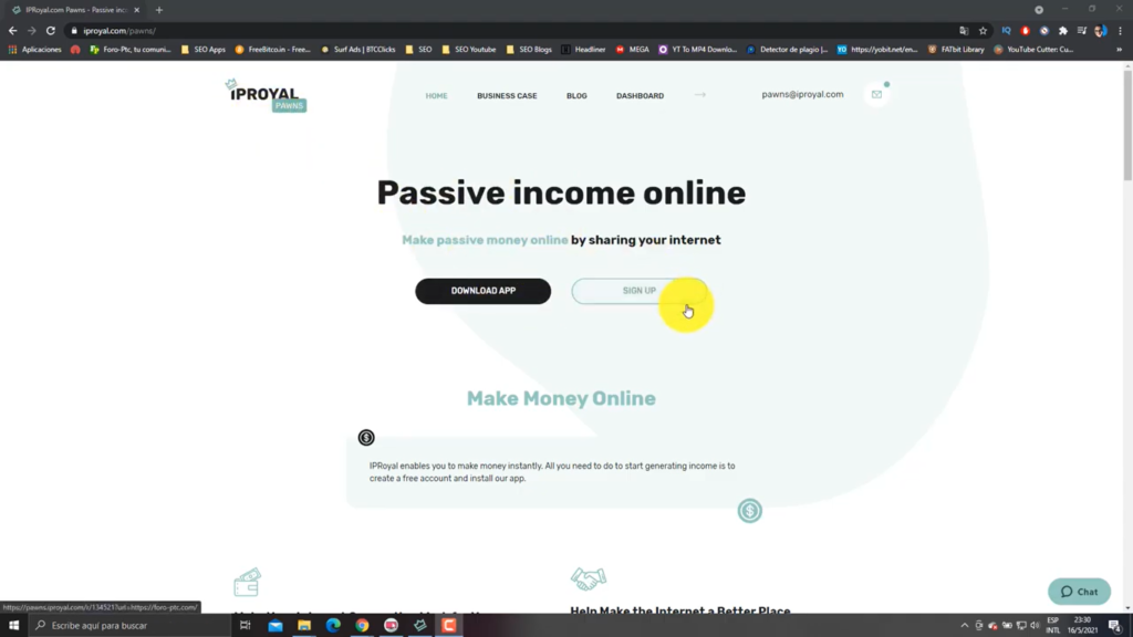 Página de Inicio de IPROYAL PAWNS